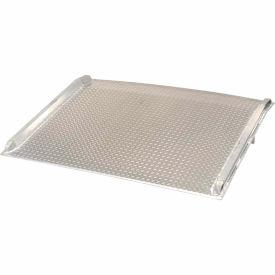 Vestil Aluminum Dock Board with Aluminum Curbs BTA-05006048 60x48 5000 Lb. Cap.