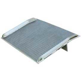 Vestil Aluminum Dock Board with Aluminum Curbs BTA-10006048 60x48 10,000 Lb. Cap