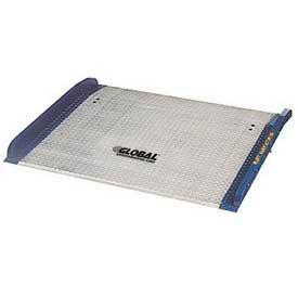 Bluff® BC7260 Aluminum Dock Board with Steel Curbs 72 x 60 15,000 Lb. Cap.