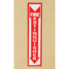 Fire Extinguisher Sign - Vertical - Vinyl