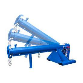 """Vestil Adjustable Pivoting Forklift Jib Boom Crane LM-OBT-6-24 6000 Lb. 24"""" Centers"""