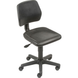 Industrial Task Chair - Polyurethane - Black