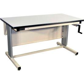 72 X 30 Plastic Top Ergo-Line Workbench- Beige