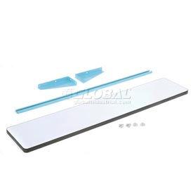 """60""""L X 12""""D PLastic Laminate Cantilever Shelf- Blue"""