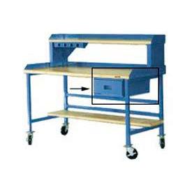 "15""W X 20""D X 6""H Bench Drawer - Blue"