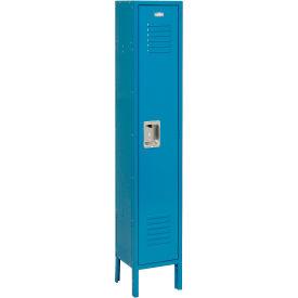 Infinity™ Locker Single Tier 12x18x60 1 Door Ready To Assemble Blue