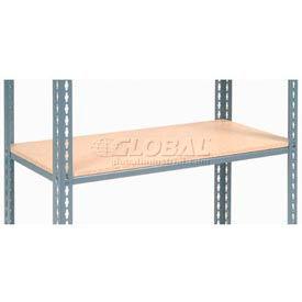 "Additional Shelf Level Boltless Wood Deck 48""W x 12""D"