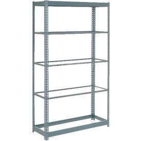 "Heavy Duty Shelving 48""W x 12""D x 60""H With 6 Shelves, No Deck"