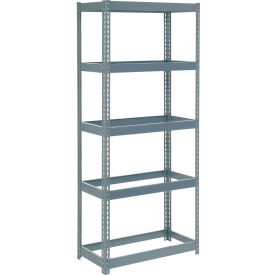 "Extra Heavy Duty Shelving 36""W x 24""D x 60""H With 5 Shelves, No Deck"