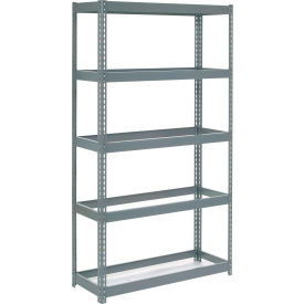 """Extra Heavy Duty Shelving 48""""W x 12""""D x 60""""H With 5 Shelves, No Deck"""