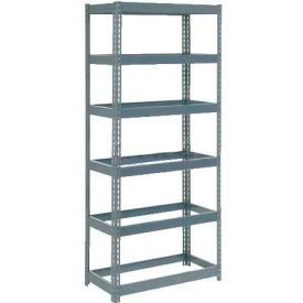 """Extra Heavy Duty Shelving 36""""W x 18""""D x 84""""H With 6 Shelves, No Deck"""