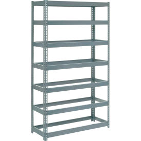 """Extra Heavy Duty Shelving 48""""W x 18""""D x 84""""H With 7 Shelves, No Deck"""