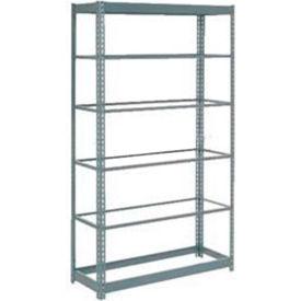 "Heavy Duty Shelving 48""W x 12""D x 96""H With 6 Shelves, No Deck"