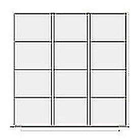 Lyon Modular Drawer Unit Divider Kit NF240L89X  - 12 Compartment- Pkg Qty 1