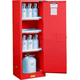 Paint & Ink Cabinet With Manual Close Single Door 22 Gallon