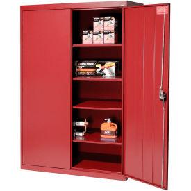 Sandusky Elite Series Storage Cabinet EA4R462472 - 46x24x72, Red