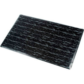 Marbleized Top Matting 36 Inch X 60 Inch Black- Pkg Qty 1
