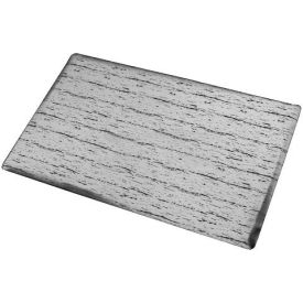 """Marbleized Top Anti-Fatigue Matting, 1/2"""" Thick 2'W Full 60Ft Roll, Gray"""