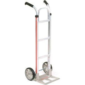 Magliner® Aluminum Hand Truck Double Handle Mold-On Wheels