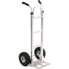 Magliner® Aluminum Hand Truck Double Handle Pneumatic Wheels