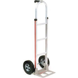 Magliner® Aluminum Hand Truck Pin Handle Semi-Pneumatic Wheels