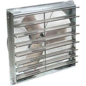 """Exhaust Ventilation Fan With Shutter 12"""" Single Speed With Hardware"""