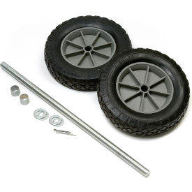 "Universal 8"" Mold-On Rubber Hand Truck Wheel Kit"