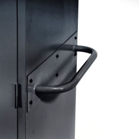 Sandusky Cabinet Push Handle TSH, Charcoal- Pkg Qty 1