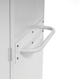 Sandusky Cabinet Push Handle TSH, Gray- Pkg Qty 1