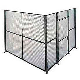 Husky Rack & Wire EZ Wire Mesh Partition Component Panel 2'Wx8'H- Pkg Qty 1