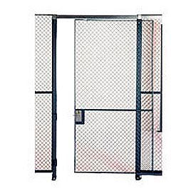 Husky Rack & Wire EZ Wire Mesh Partition Sliding Door - 6'Wx10'H- Pkg Qty 1