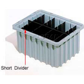Akro-Mils Short Divider 41168 For Akro-Grids Dividable Grid Containers 33168 Pack Of 6- Pkg Qty 1