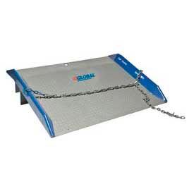 Bluff® 10SC7248 Steel Dock Board with Steel Curbs 72 x 48 10,000 Lb. Cap.