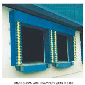 Chalfant Blue Dock Door Seal Model 130 Heavy Duty 40 Ounce 8'W x 10'H