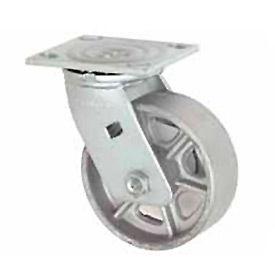 "Faultless Swivel Plate Caster 1406-8 8"" Steel Wheel- Pkg Qty 1"