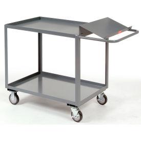 Two Shelf Order Picking Cart 48x24 Tray Top Shelf