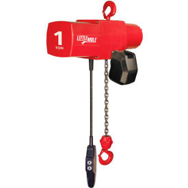 Coffing Little Mule Electric Chain Hoist with Chain Container 500 lb. Capacity