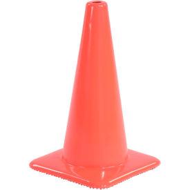"""18"""" Traffic Cone, Non-Reflective, Orange,  3 lbs, 1850"""