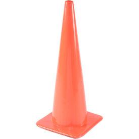 """28"""" Traffic Cone, Non-Reflective, Orange, 10 lbs, 2825-10"""