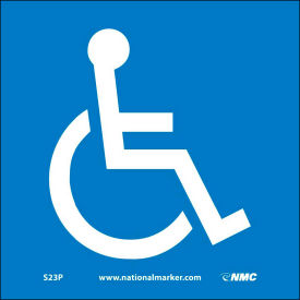 Graphic Facility Signs - Handicapped Logo - Vinyl 7x7