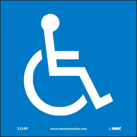Graphic Facility Signs - Handicapped Logo - Vinyl 4x4