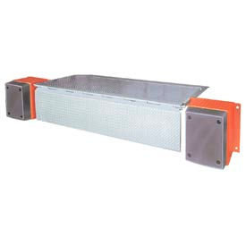 "DLM HED Series AC Powered Edge of Dock Leveler 72""W Usable & 110""W Overall 20,000 Lb. Cap."