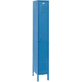 Penco 6181V-1-806-SU Vanguard Locker Pull Latch Single Tier 18x18x72 1 Door Assembled Marine Blue