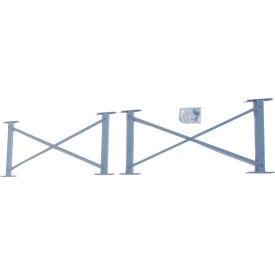"Cantilever Rack Horizontal Brace Set, 60"" W, For 16' H Uprights, 16' H Uprights"