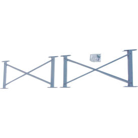 "Cantilever Rack Horizontal Brace Set (3000-5000 Series), 72"" W, For 16' H Uprights"