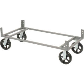 "48""Wx24""D Gray Dolly Base"