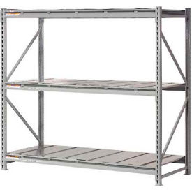 "Extra High Capacity Bulk Rack With Steel Decking 72""W x 36""D x 120""H Starter"