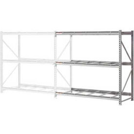 """Extra High Capacity Bulk Rack Without Decking 96""""W x 36""""D x 72""""H Add-On"""