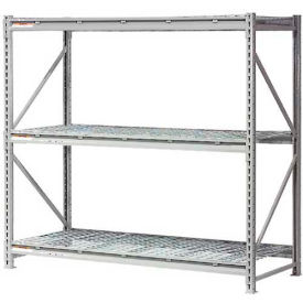 "Extra High Capacity Bulk Rack With Wire Decking 72""W x 36""D x 96""H Starter"