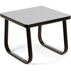 """OFM 20"""" End Table with Sled Base, Gray"""